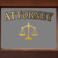 Attorney Sign