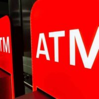 bank ATM signs