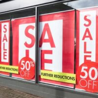 window sale banners