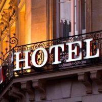 channel letter hotel sign