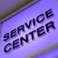 custom indoor department sign