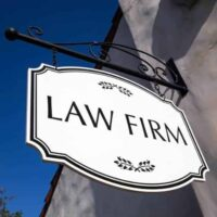 law firm signage
