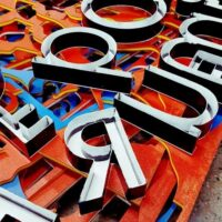 Sign Production, Manufacturing, & Fabrication